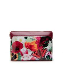 Bretti Floral Swirl large wash bag