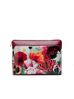 Ted Baker Bretti Floral Swirl large wash bag
