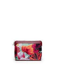 Ted Baker Albertt Floral Swirl small wash bag