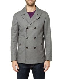 Ted Baker Musgrav Cotton Pea Coat
