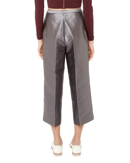 Ted Baker Celsee Cropped metallic culottes
