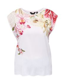 Ted Baker Catlee Encyclopedia floral T-shirt