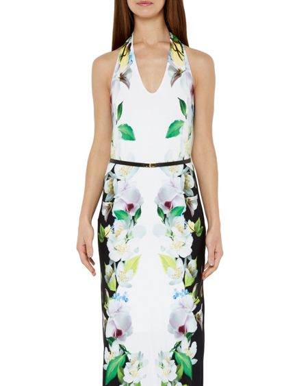 Ted Baker Torus Forget Me Not maxi dress