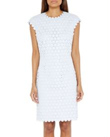 Ted Baker Jemille Lace scalloped edge tunic dress