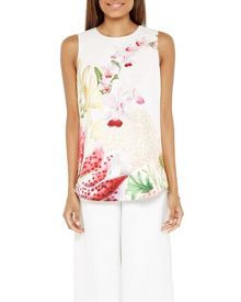 Ted Baker Fleroa Encyclopedia Floral top