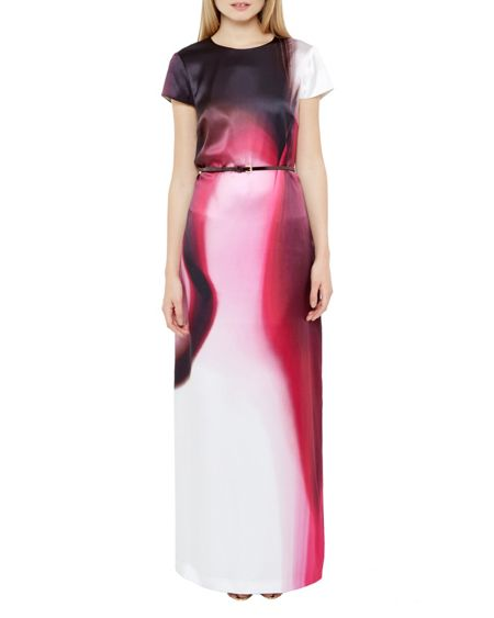 Ted Baker Noora Dispersed Beauty Maxi Dress