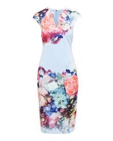 Ted Baker Brynee Focus Bouquet Bodycon Dress