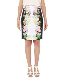 Ted Baker Dayian  Forget Me Not pencil skirt