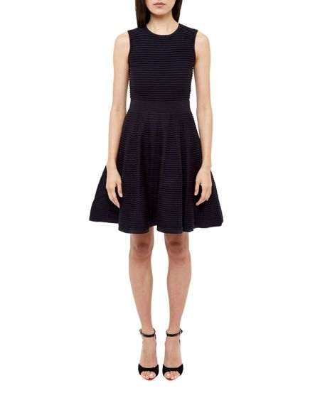 Ted Baker Nadyne Ottaman Detailed Dress