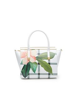 Trudy Secret Trellis leather tote bag