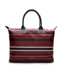 Ted Baker Jazmin Stencil Stripe large tote bag