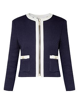 Eniela Bow detail cropped jacket