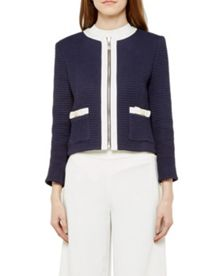Ted Baker Eniela Bow detail cropped jacket
