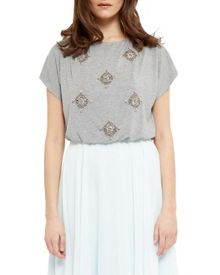 Ted Baker Embellished Contrast Dress
