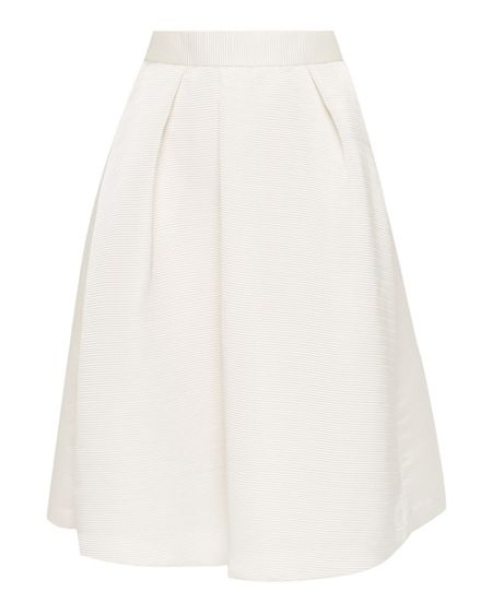 Ted Baker Zelida High waisted ribbed midi skirt