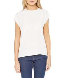 Ted Baker Monikaa Silk ribbon tie top