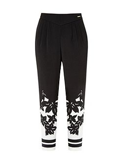 Girlah Floral printed trousers