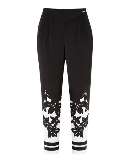 Ted Baker Girlah Floral printed trousers