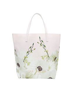 Pearly Petal large shopper bag