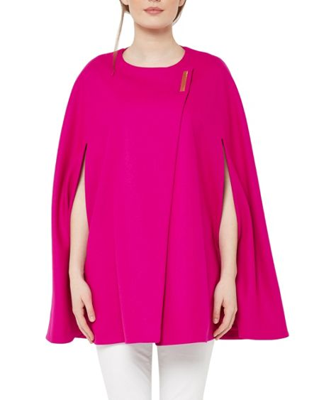 Ted Baker Vickiye Wool Cape