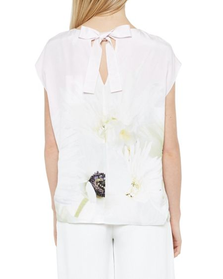 Ted Baker Ermira Pearly Petal Silk Top