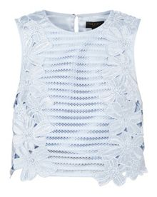 Ted Baker Doltie Floral lace applique top
