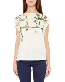 Ted Baker Wond Secret Trellis front T-shirt