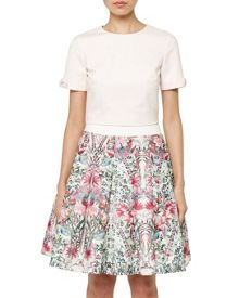 Ted Baker Gayl Bow Detail Crop Top