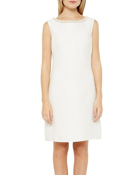 Ted Baker Yulisad Embellished sleeveless dress