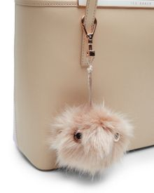 Ted Baker Lolaa Fluffy bag charm