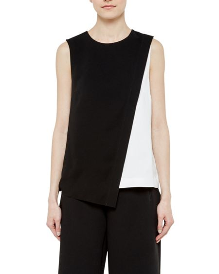 Ted Baker Fawney Layered Colour Block Top