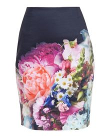 Ted Baker Karyce Focus Bouquet Pencil Skirt