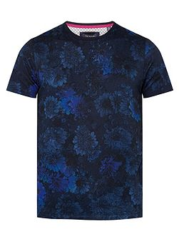 Dixonn floral print cotton t-shirt