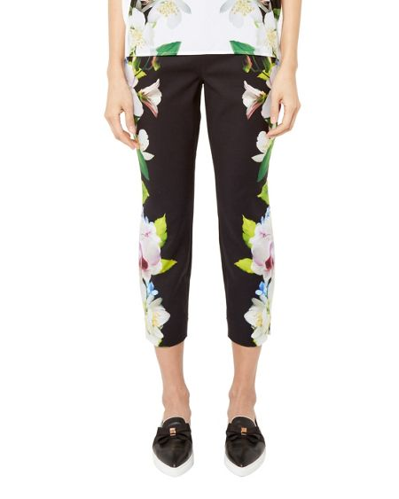 Ted Baker Galla Forget Me Not cropped trousers