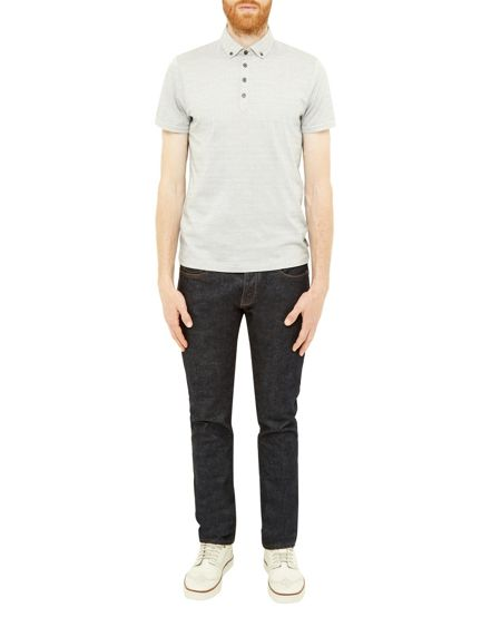 Ted Baker Tomaso Spotted Cotton Polo Shirt