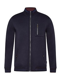 Stephan Funnel neck jacket