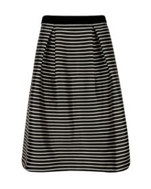 Ted Baker Striped midi skirt