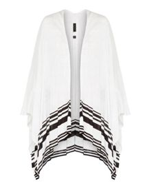 Ted Baker Poleena Striped detail knitted wrap