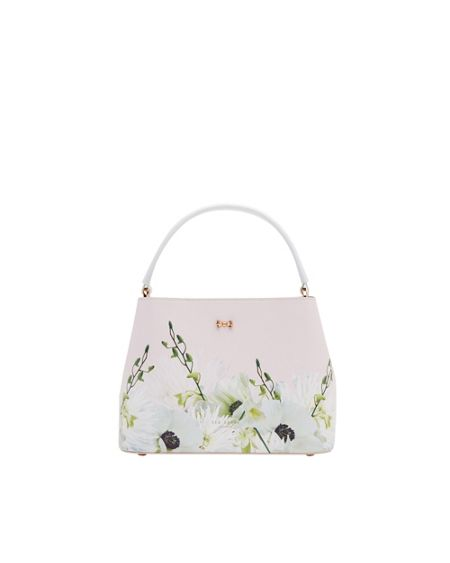 Ted Baker Dafeny Pearly Petal Small Leather Tote Bag