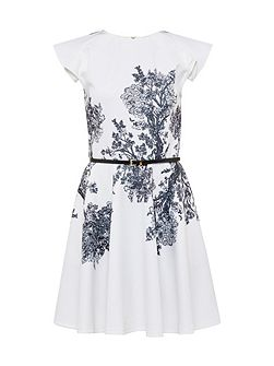 Yee Illustrated Elegance Skater Dress