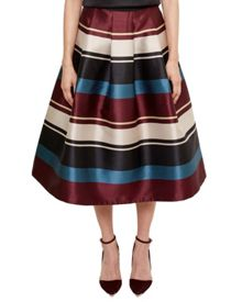 Ted Baker Majida Antique Stripe Full Midi Skirt