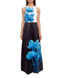 Ted Baker Niriah Blue Beauty Maxi Dress