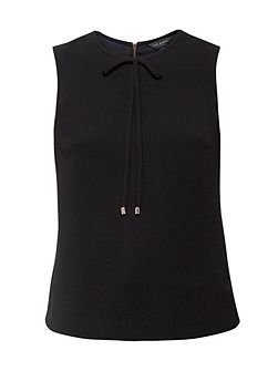 Natalle Bow neckline top