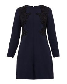 Ted Baker Aysa Embroidered Playsuit