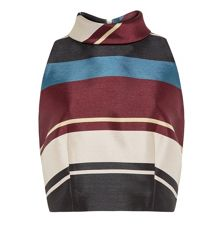 Ted Baker Josla Antique Stripe Cropped Top