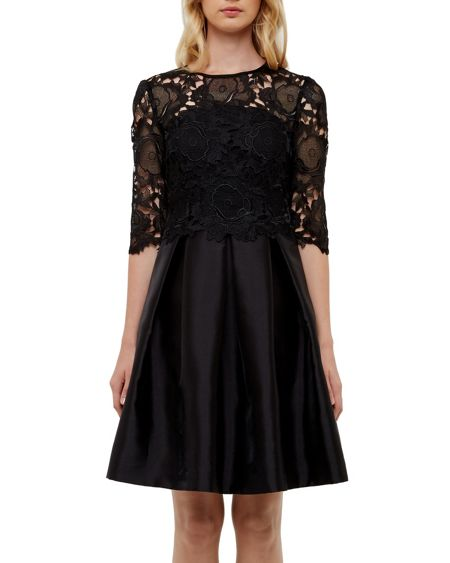 Ted Baker Maaria Lace bodice dress