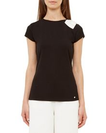 Ted Baker Tuline Oversized Bow T-Shirt