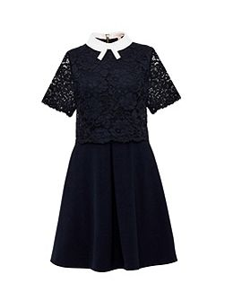 Dixxy Layered Lace Dress