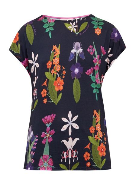 Ted Baker Cout Horticultural Print T-Shirt