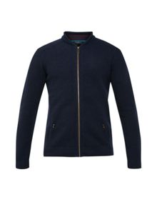 Ted Baker Bali Wool zip up cardigan